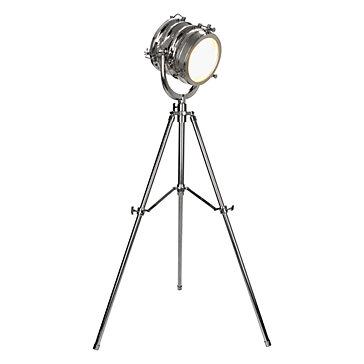 €620 Silver metal-aluminium spotlight, H-180