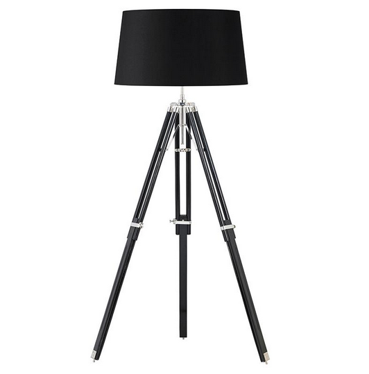 €320 Wooden Tripod Lighting (Black or white hat) BW00312