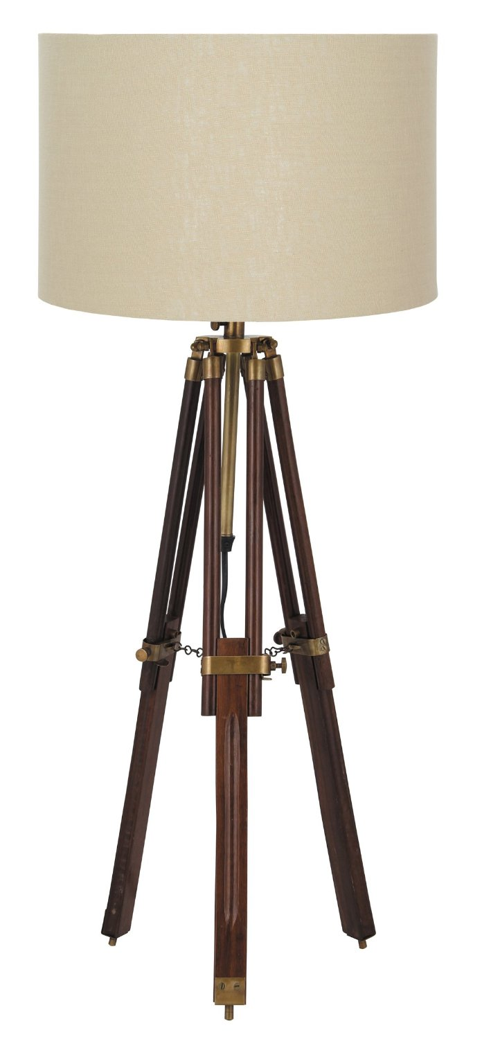 €300 Wooden Tripod Lighting (Beuge or white hat) BW00305