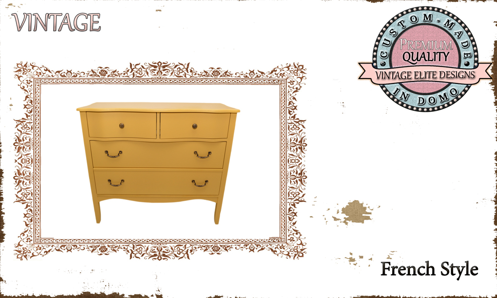 CUSTOM-MADE FRENCH STYLE DRAWER PERSONALIsED BY YOUR CHOICE OF PAINTS AND DIMENSIONS. 100x40x90 (TO ORDER AT €500)