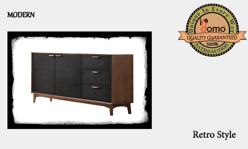 CUstom-made Buffet retro style PERSONALIsED BY YOUR CHOICE OF PAINTS AND DIMENSIONS,  160X45.5X86 (TO ORDER AT €800)