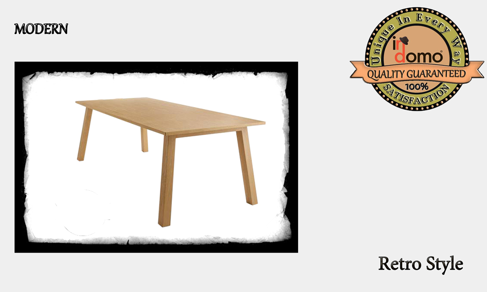 CUSTOM-MADE WOODEN DINING TABLE personalised to your choice of paints and dimensions. 180X90X75. (TO ORDER AT €480)