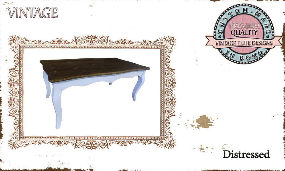 """custom-made """"french style"""" Coffee table PERSONALIsED BY YOUR CHOICE OF PAINTS AND DIMENSIONS, 100x50x42 (TO order aT €260)"""