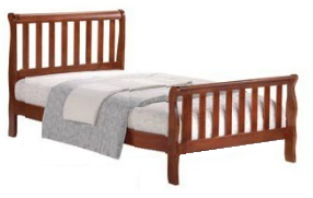 Country style bed. Single bed at 90x190 - €140, twin bed at 107x200 - €170, double bed at 150x200 - €260 Notice: Mattress is not included in the price.