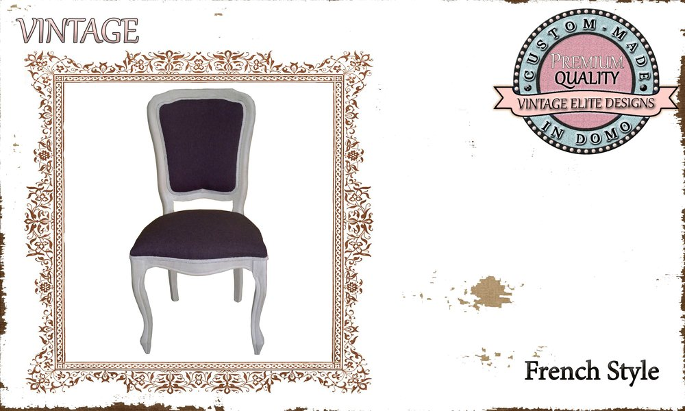 SHABBY CHIC CHAIR PERSONALIsED BY YOUR CHOICE OF PAINTS AND FABRICS. (TO ORDER AT €200 + 1 MTR FABRIC)