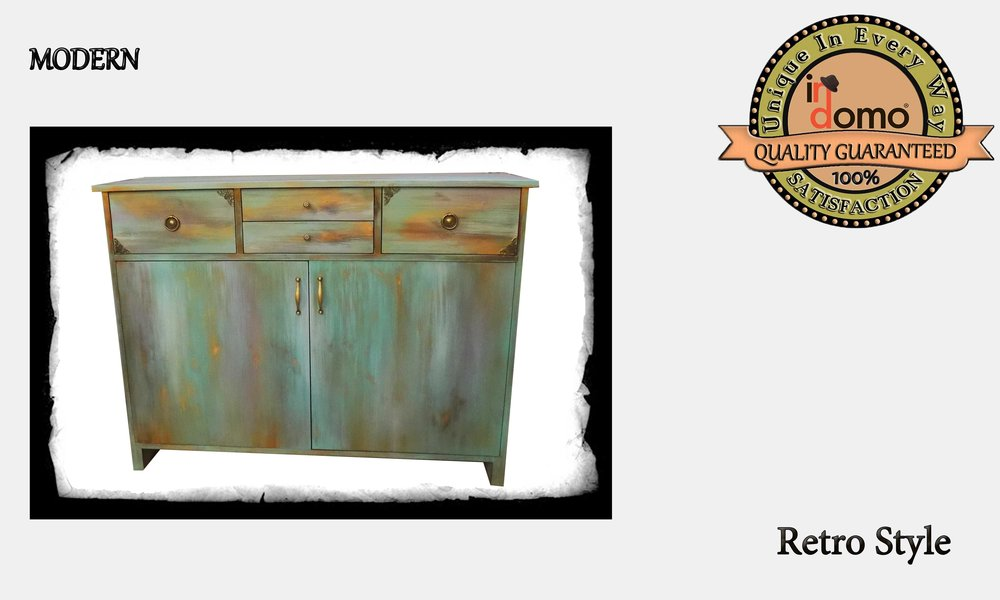 CUSTOM-MADE Rustic cabinet PERSONALIZED BY YOUR CHOICE OF PAINTS AND DIMENSIONS. 120x40x90cm (TO ORDER at €750)