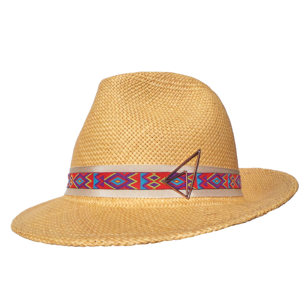 Butterscotch Panama Trilby