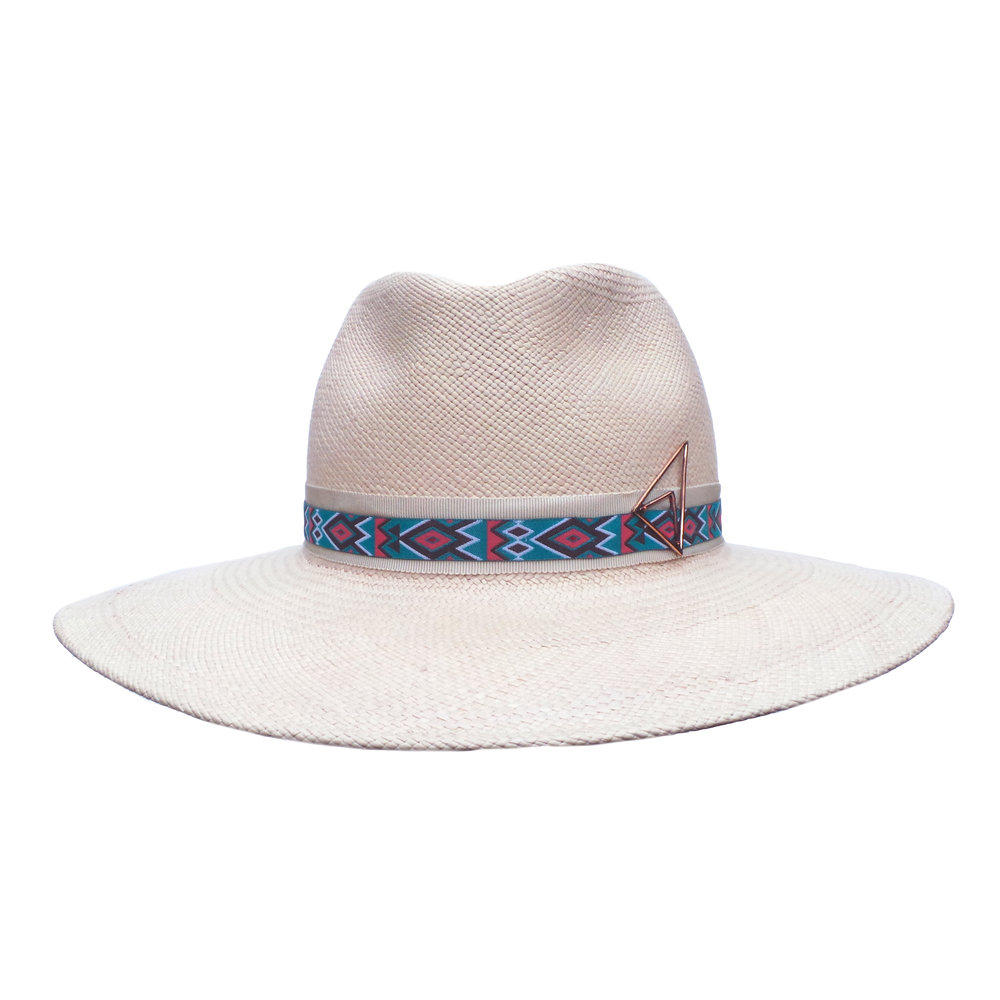 Blush Blue Fedora