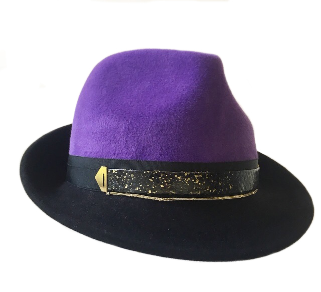 Purple Crown Trilby