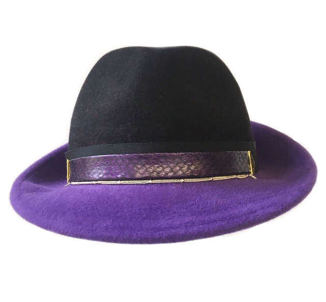 Black Crown Trilby