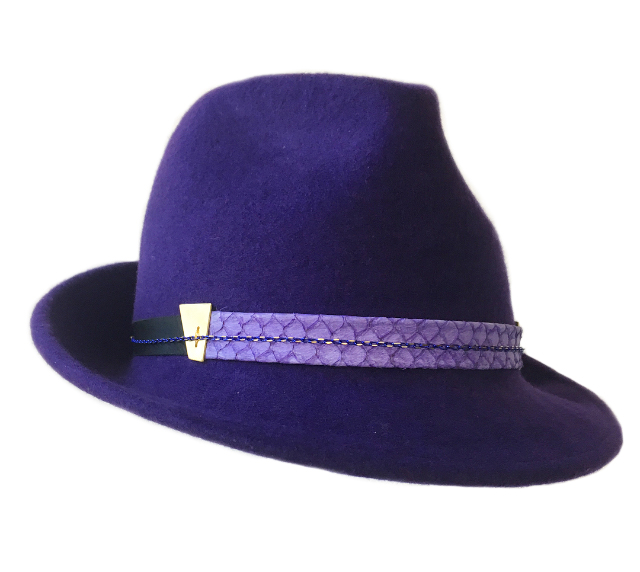 Purple Trilby