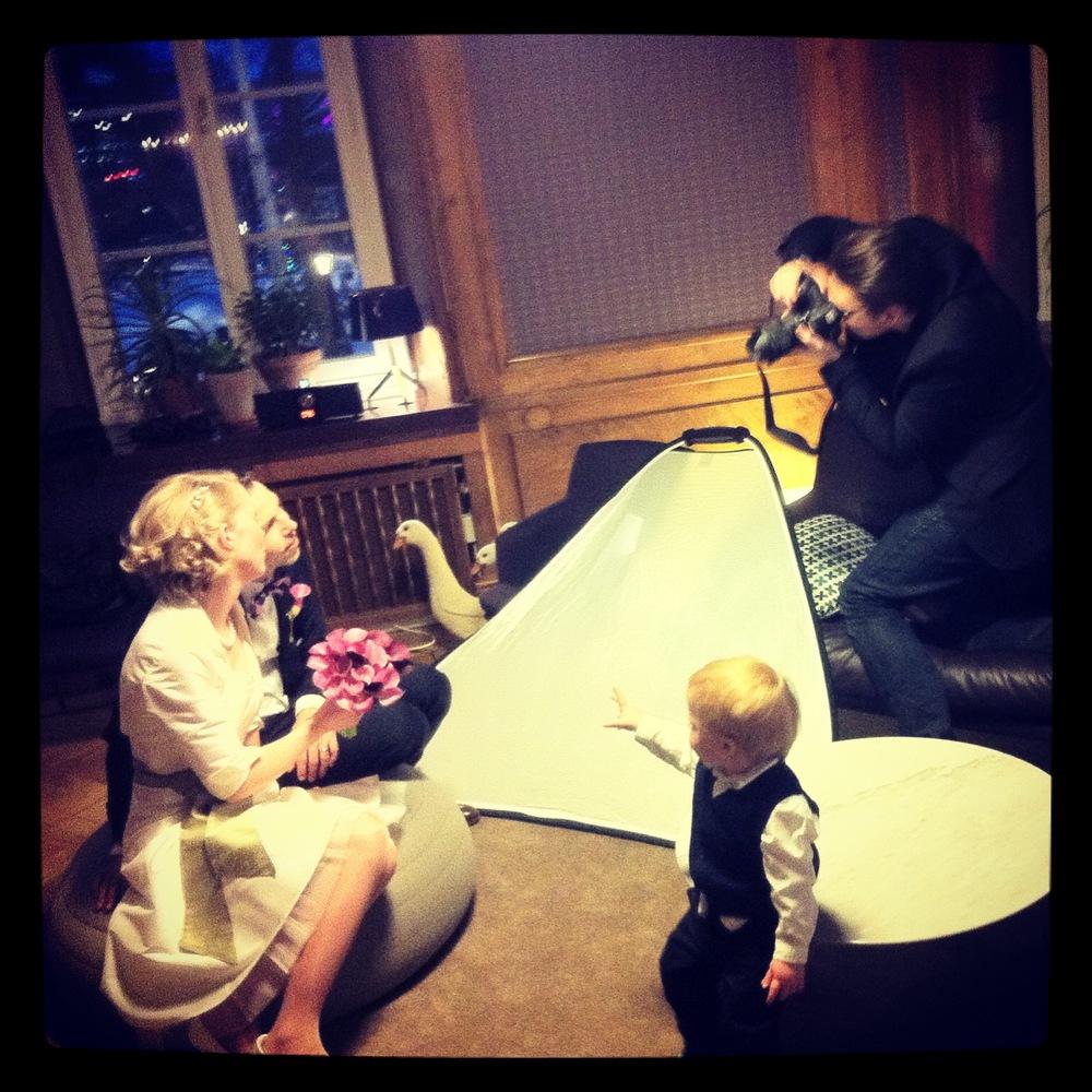 Bröllopsfotografering på Nobis Hotell Foto: Sofia Olsson