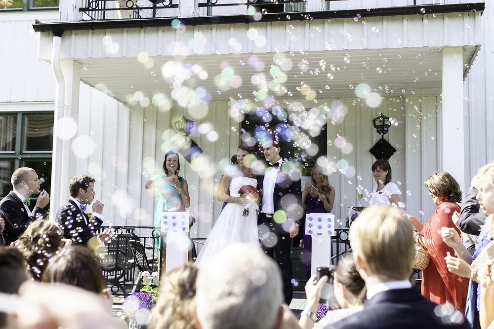 Bröllopsfotografering på Noors Slott Fotograf: Fredrik Wahlström