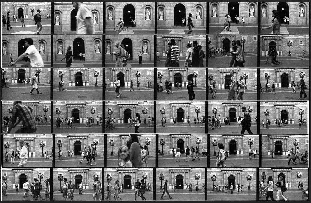 BARCELONA IN THIRTY-SIX FRAMES