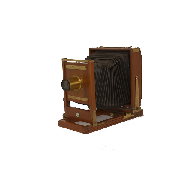 Century 2     1900-1903 This 4 1/4 x 6 1/2 field camera was part of many made before the company was purchased by George Eastman in 1903. In 1905 Century took over Rochester Panoramic Camera Company. In 1907 it became Century Camera Div., EKC then Folmer-Century Div., EKC and finally Folmer Graflex Corp. in 1926.