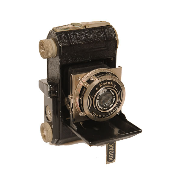 Kodak Retina 1 Type 119   1936-1938. The Retina cameras were made in Germany for Kodak from 1934 to 1969. The factory stopped making cameras from 1941 to 1945 when it was converted to making time fuses for 88mm anti-aircraft ammunition.   The Retina (a folding camera) opened up photography to the general public because of its low price and novel 35mm Daylight Loading Cartridge film. It was the first camera to use 35mm film.