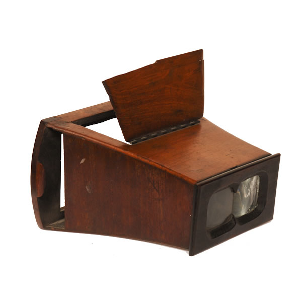 Stereo Viewer      1870's Bruster Stereo Viewer