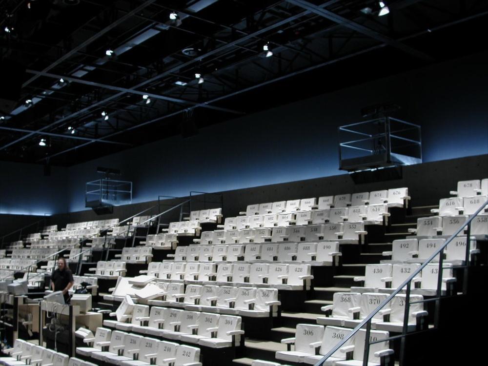 Armani Teatro Giorgio Armani Theater, Milan, 2001 © photo by AJ Weissbard