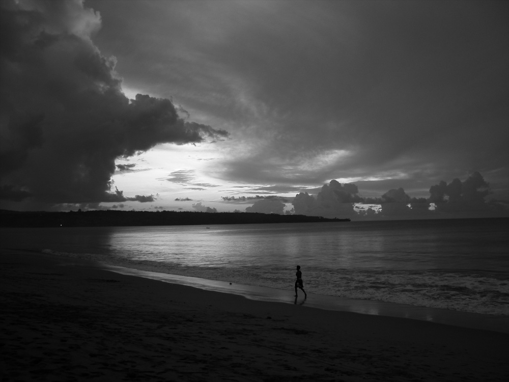Beach Bali 12/2002   © photo by AJ Weissbard