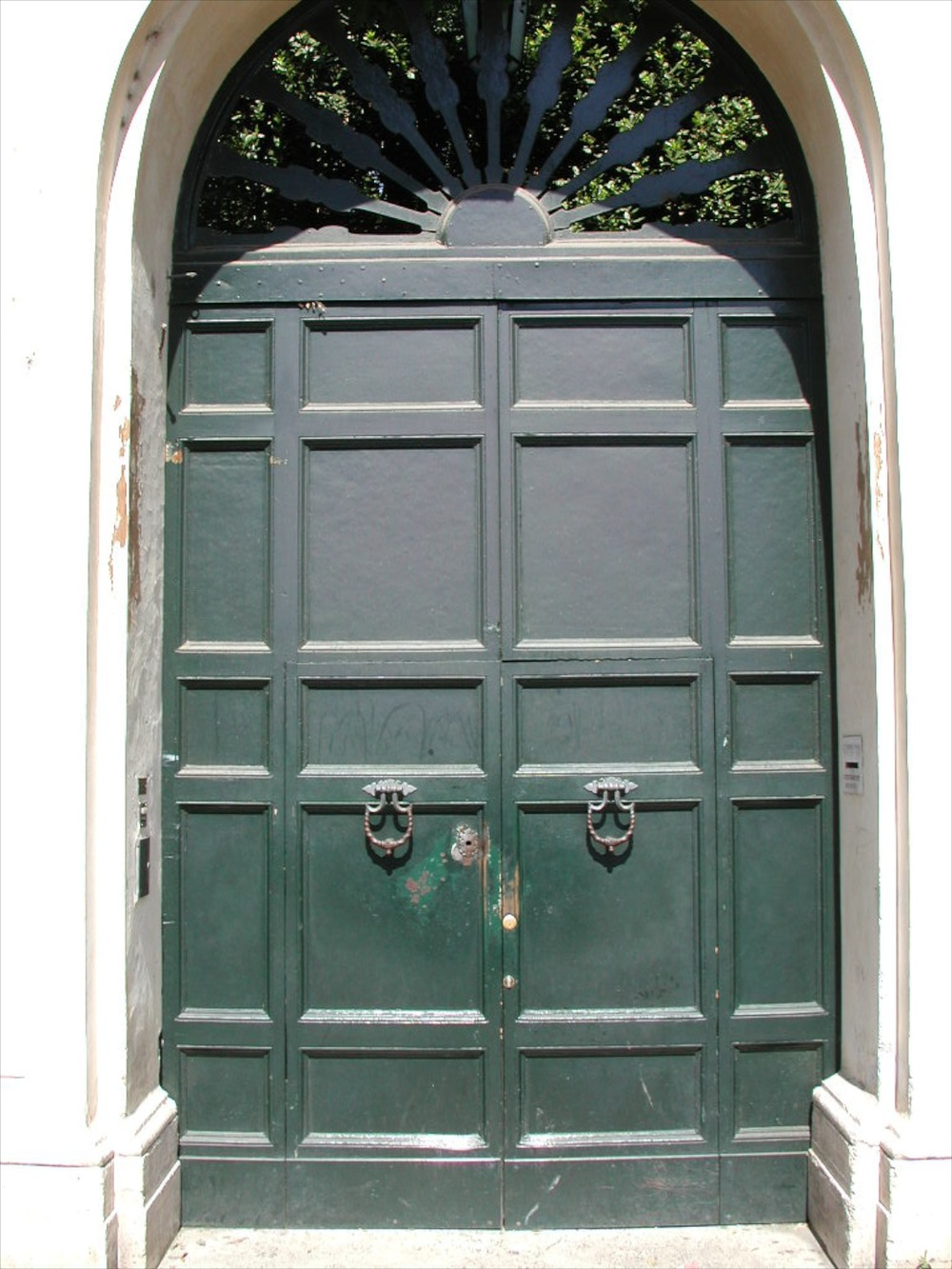 Door 1 Rome 04/2002   © photo by AJ Weissbard
