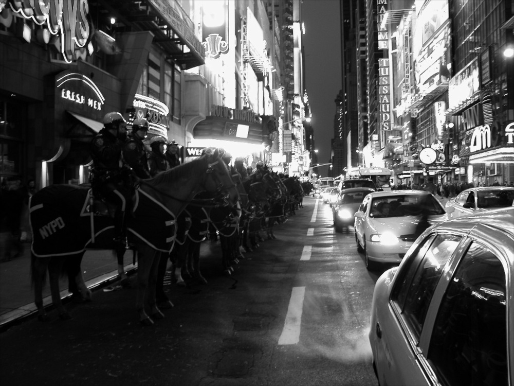 42nd Street New York 02/2003   © photo by AJ Weissbard