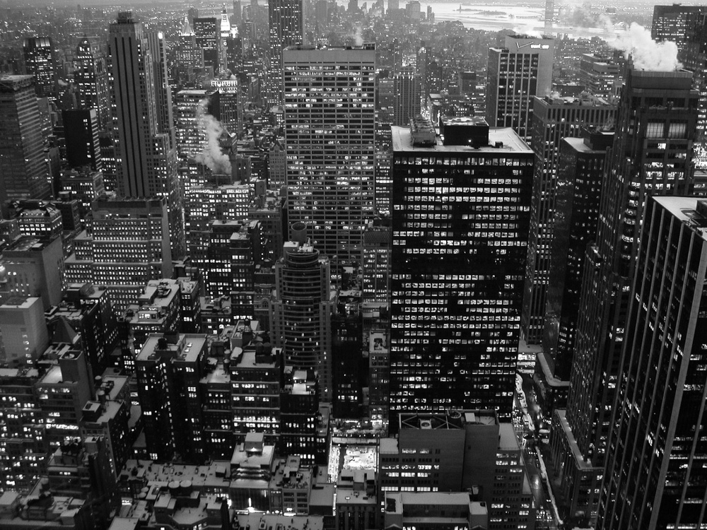 Buildings New York 02/2003   © photo by AJ Weissbard