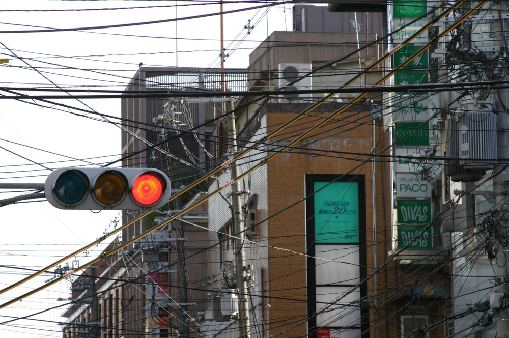 Powerlines 2 Kyoto 04/2004   © photo by AJ Weissbard