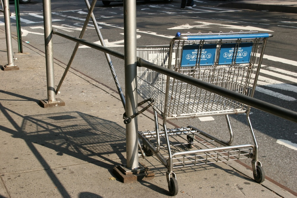 Shopping Cart New York 07/2005   © photo by AJ Weissbard