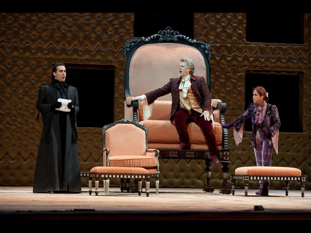 La Clemenza di Tito Teatro San Carlo Naples, 2010   © photo by Luciano Romano