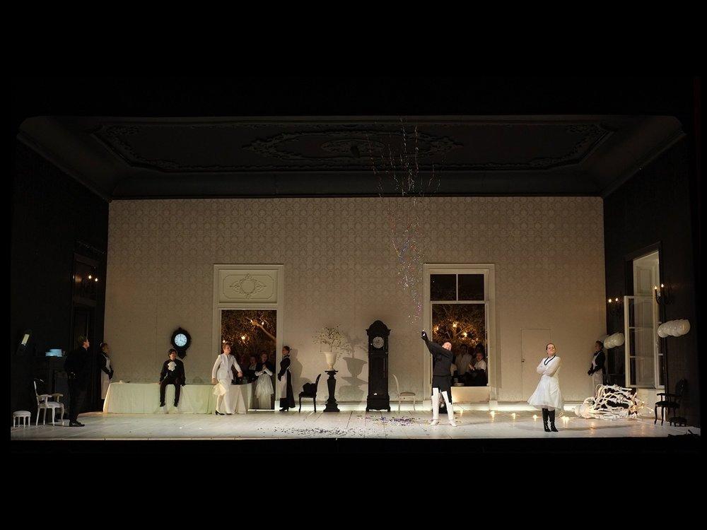 Eugene Onegin Mikhailonvsky Theatre, St. Petersburg, 2012 ©photo by AJ Weissbard