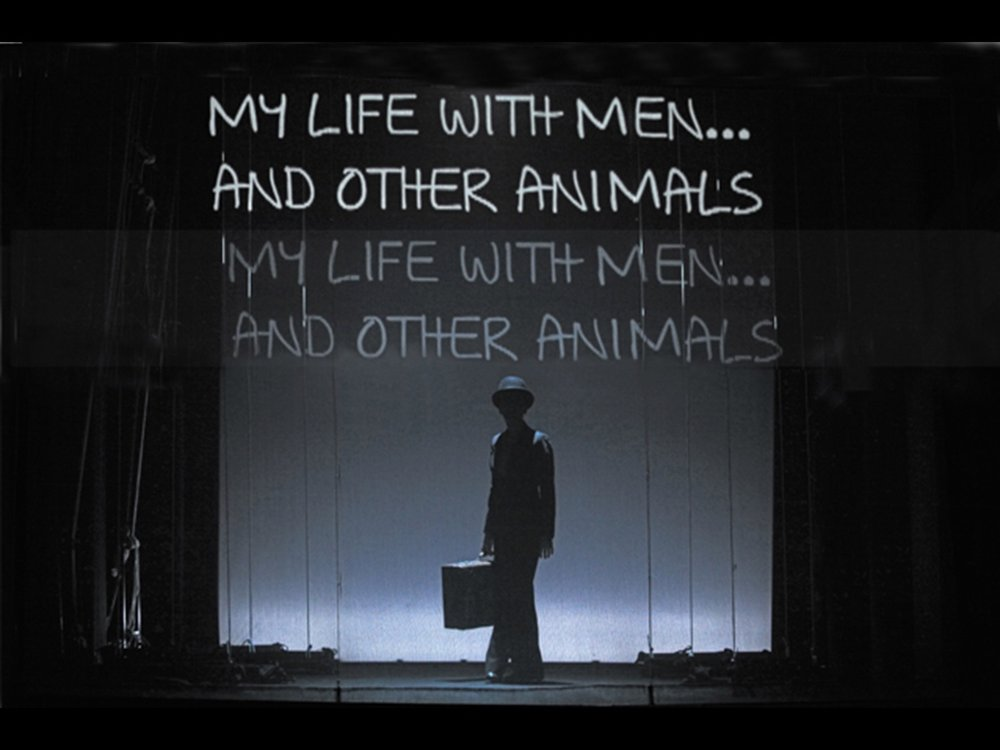 My Life with Men... and other Animals Teatro del Sale, Florence, 2010 (photo courtesy of Change Performing Arts)