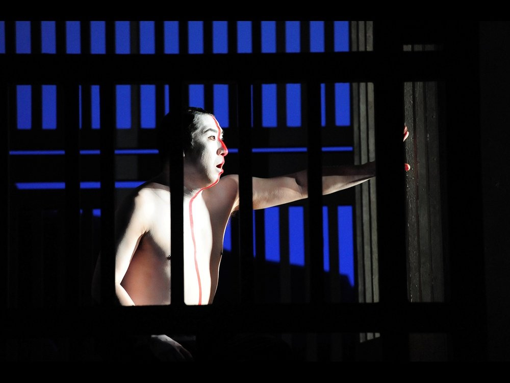 Gogo No Eiko Teatro Nuovo, Spoleto, 2010   (photo courtesy of Festival di Spoleto)