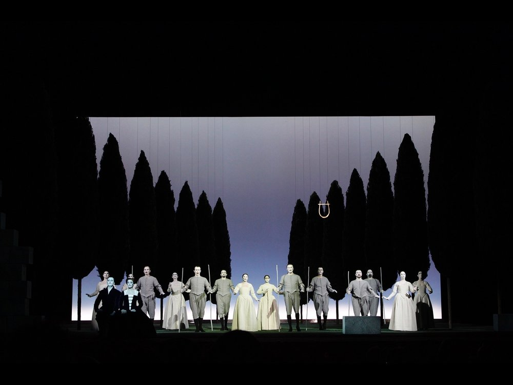 L'Orfeo Teateo alla Scala Milan, 2009 © photo by AJ Weissbard