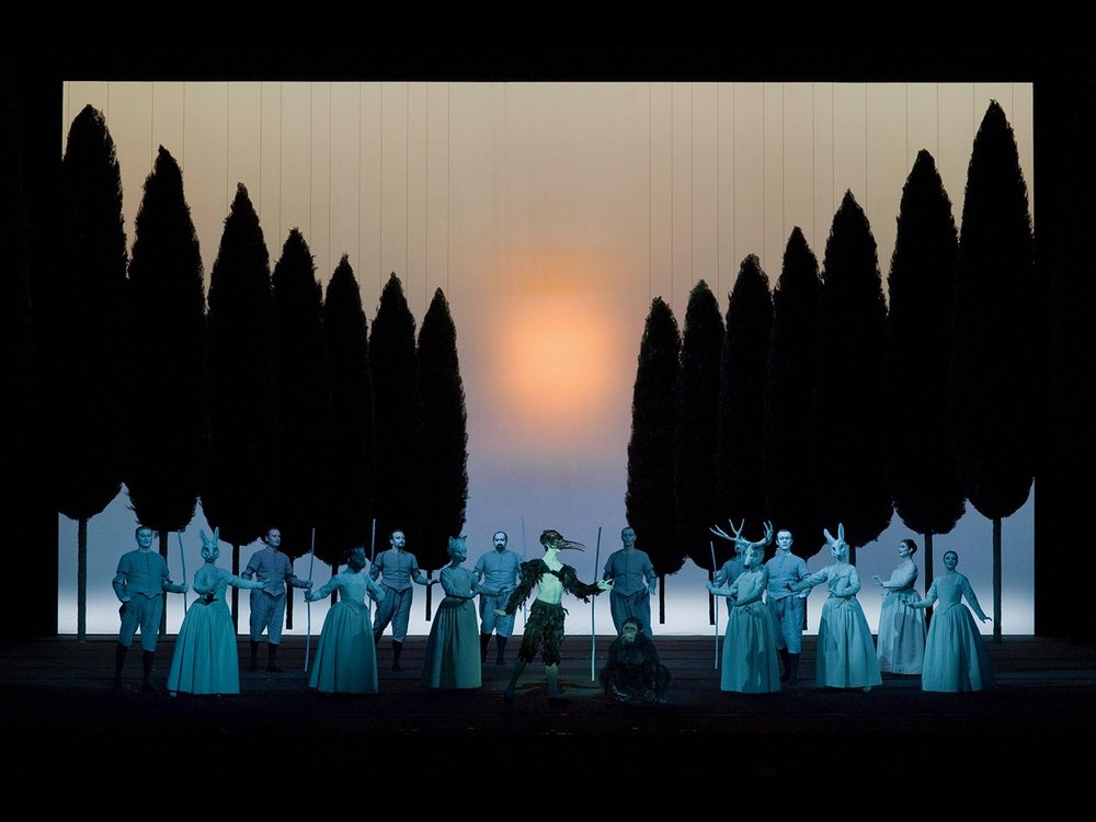 L'Orfeo Teateo alla Scala Milan, 2009 © photo by Lelli e Masotti (photo courtesy of Teatro alla Scala)