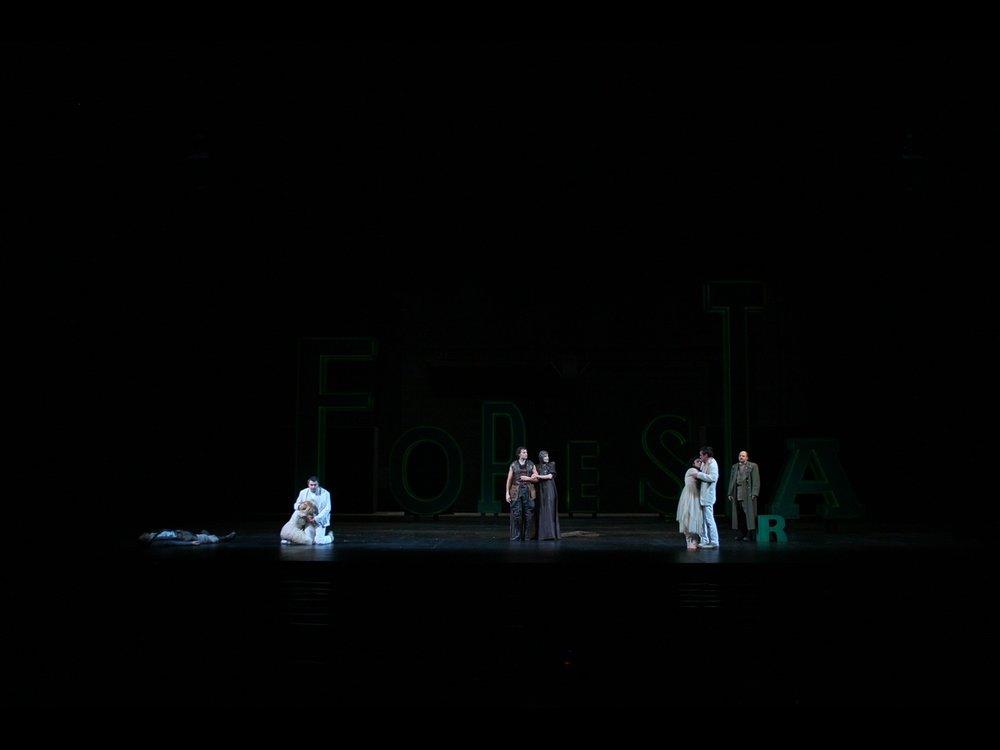 Sogno di una Nozze di Mezz'Estate (A Midsummer Night's Dream) Teatro Giorgio Strehler,Piccolo Teatro, Milan, 2008 © photo by AJ Weissbard