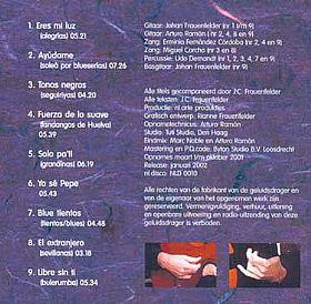 Tonos Negos  Johan Frauenfelder - 2002  www.johanfrauenfelder.nl