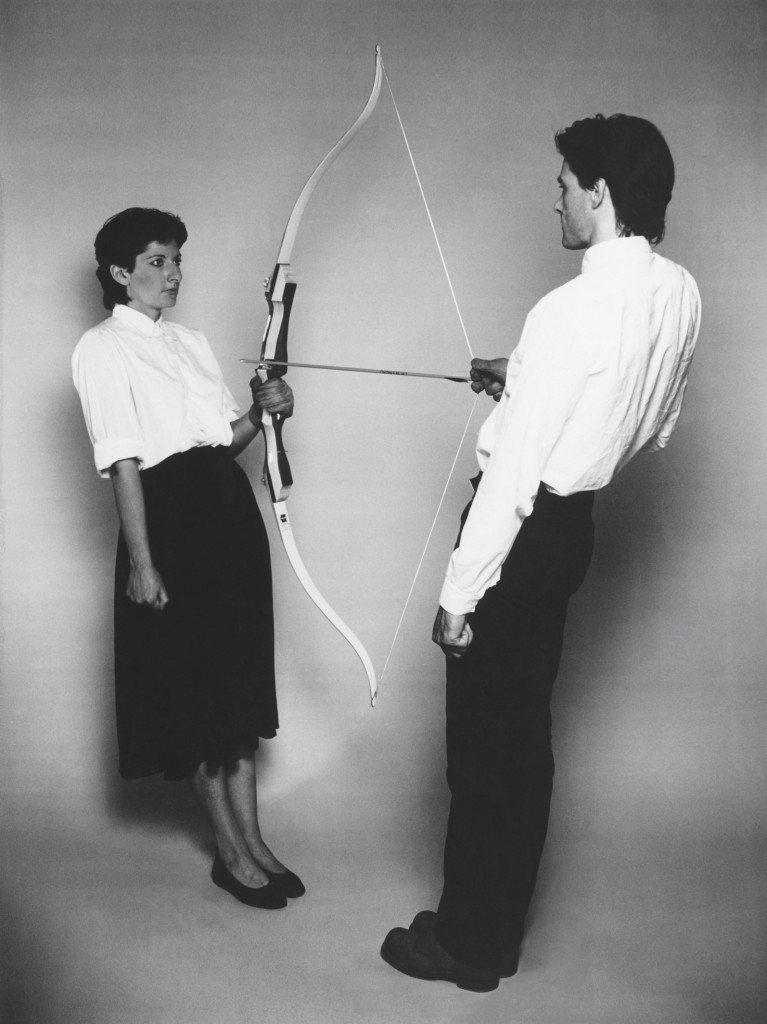 Marina Abramovic/Ulay: Rest Energy, duration: 4 mins, 10 sec, August, 1980