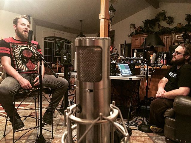 Recording the next episode for the Shattered Silence Podcast Podcast!  #ShatteredSilence #ShatteredSilenceMusic #Podcast #ShatteredSilencePodcastPodcast #BandLife #Music #Musicians #DreamChasers