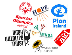 For a full list of charities & their keywords, click  here !