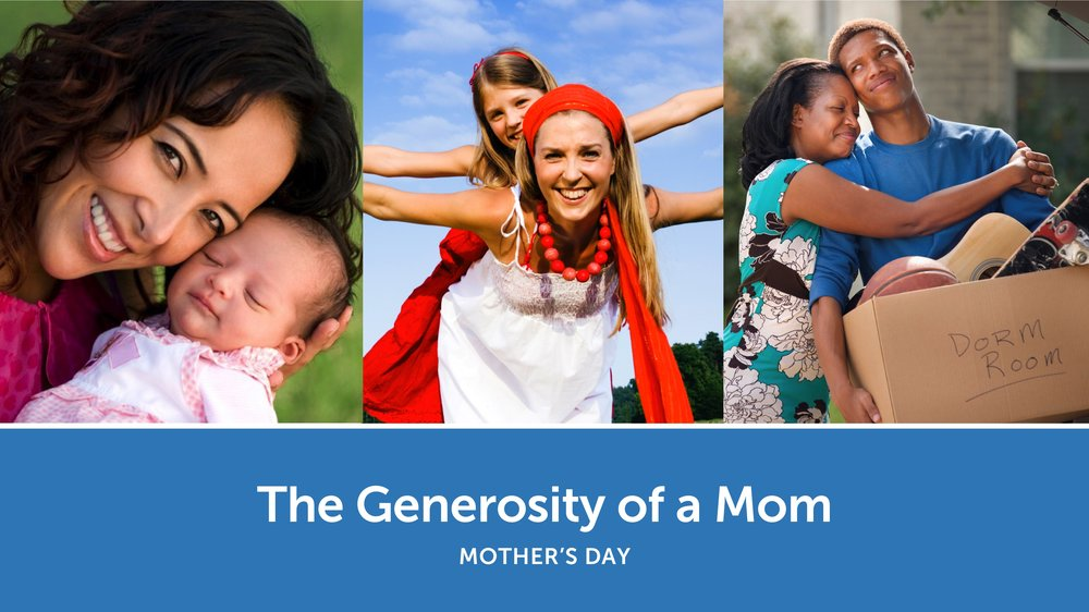 The generosity of a Mom -