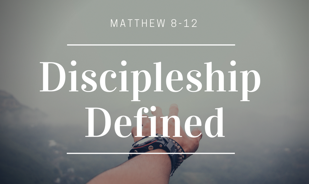 Discipleship!  - Get connected through one of our discipleship programs!