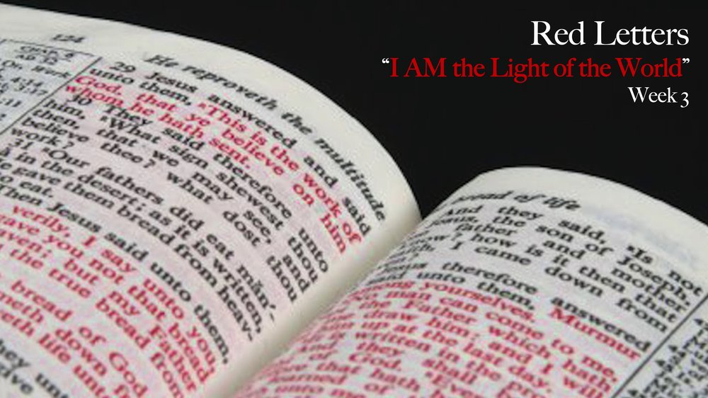 I AM the Light of the World -