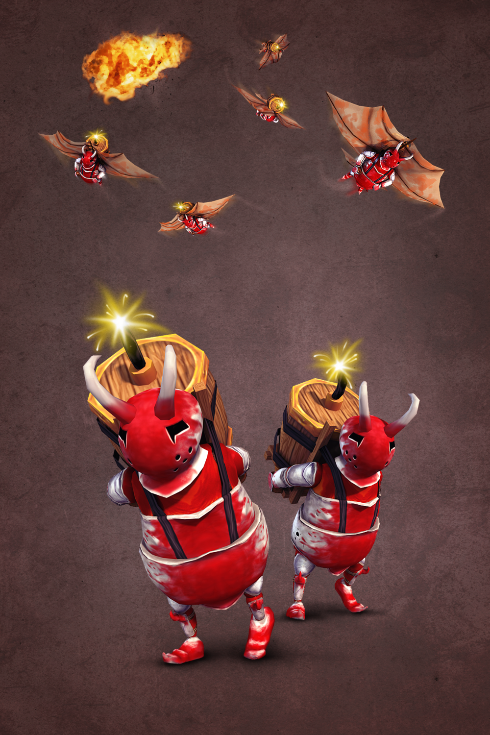 Bomb Goblin and Bomb Glider: 2 New Rage Enemies