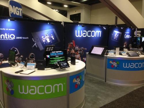 Wacom Booth at GDC