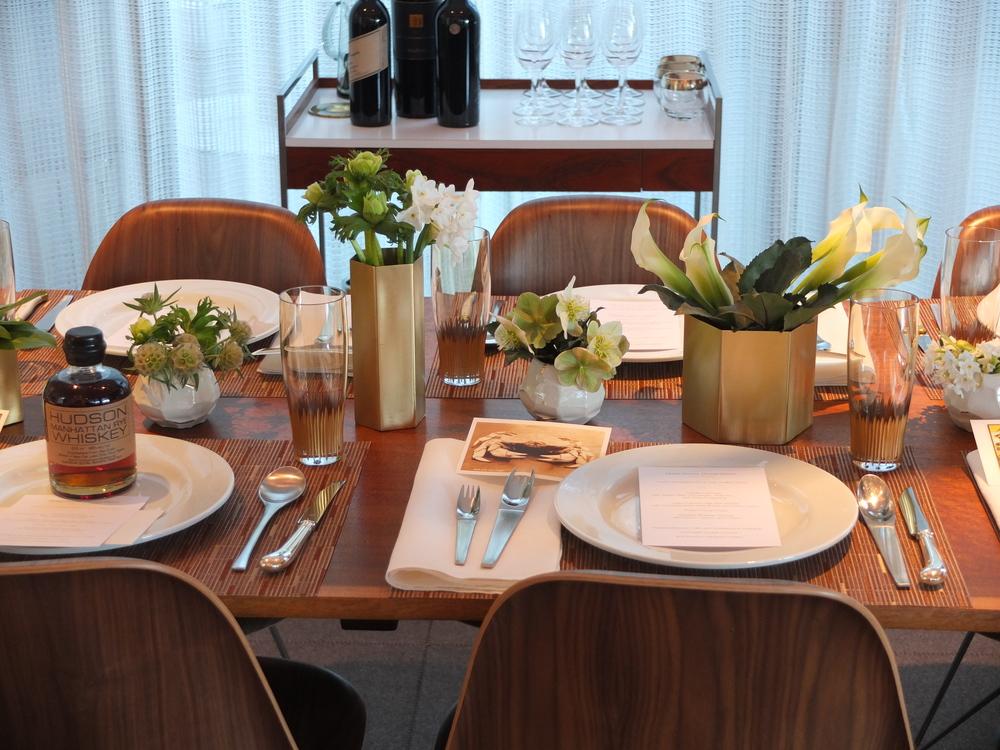 Hoke dining room detail