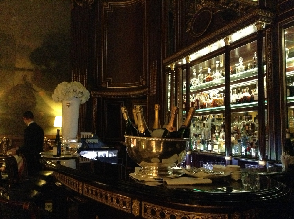 Bar at Le Meurice