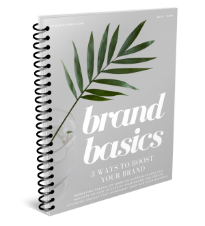 Brand Basics by Skondasana - Define Your Brand