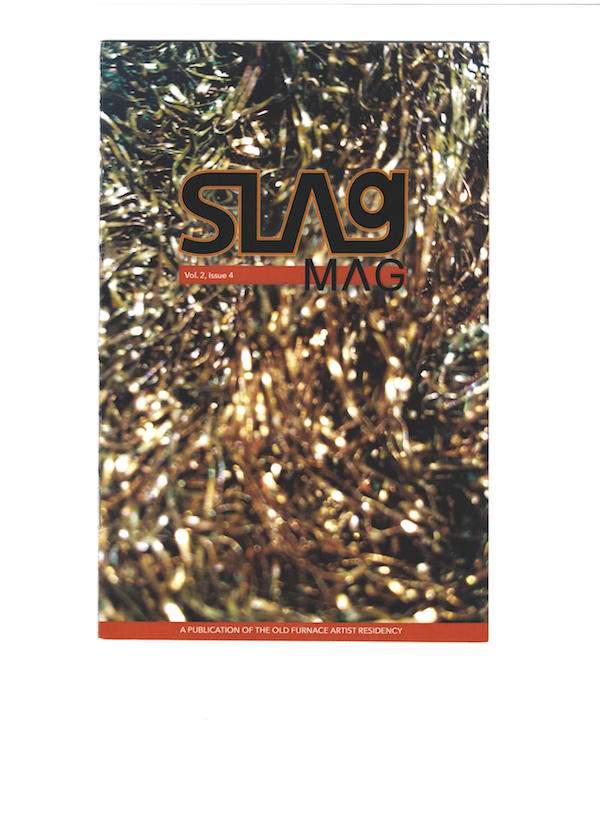 SLAG MAG ,  Glitter , Volume 2, Issue 4, pg 9, December 2015