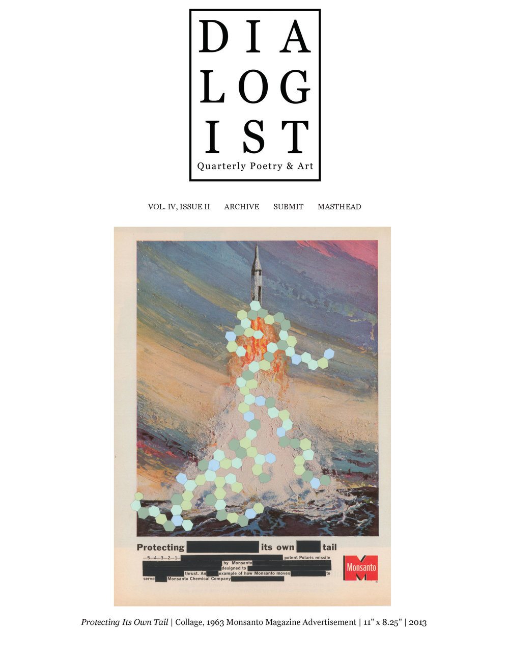 DIALOGIST  , Quarterly Poetry & Art, Volume II, Issue II
