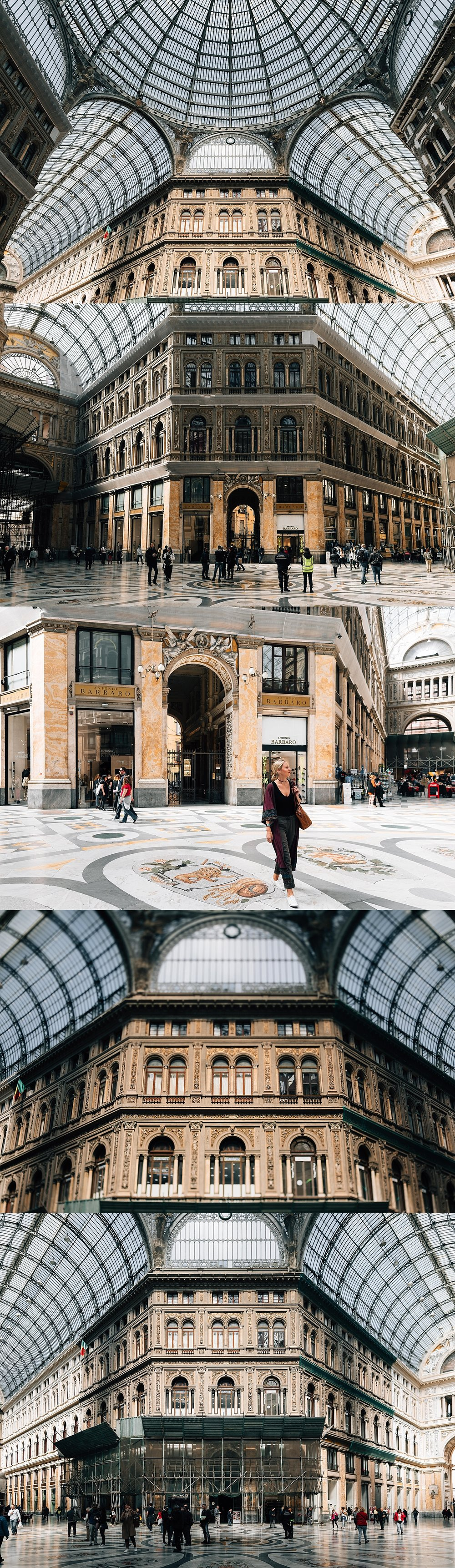 Galleria Umberto I - fancy mall.